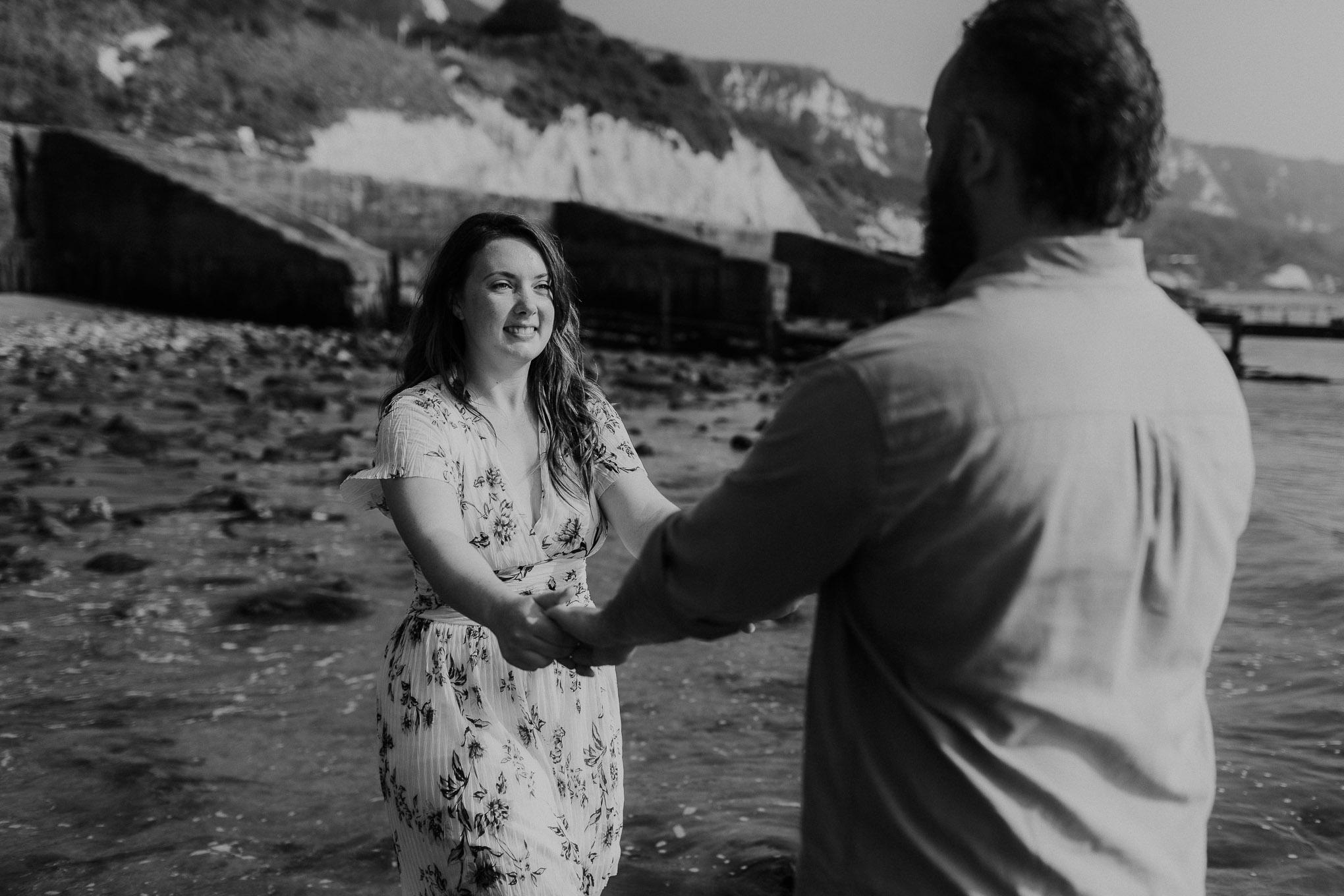 Folkestone Beach Pre-Wedding