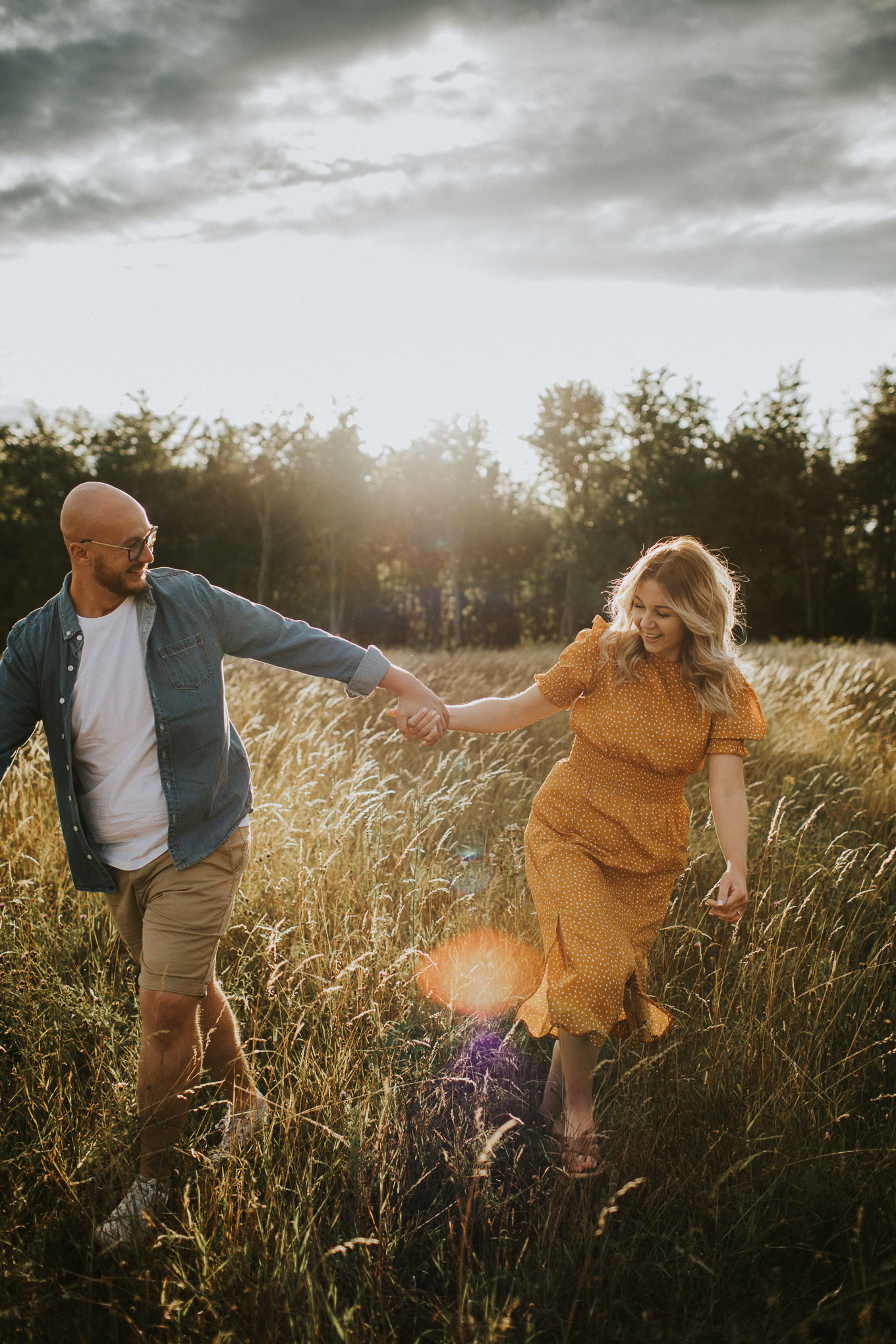 Goodnestone-sunset-pre-wedding