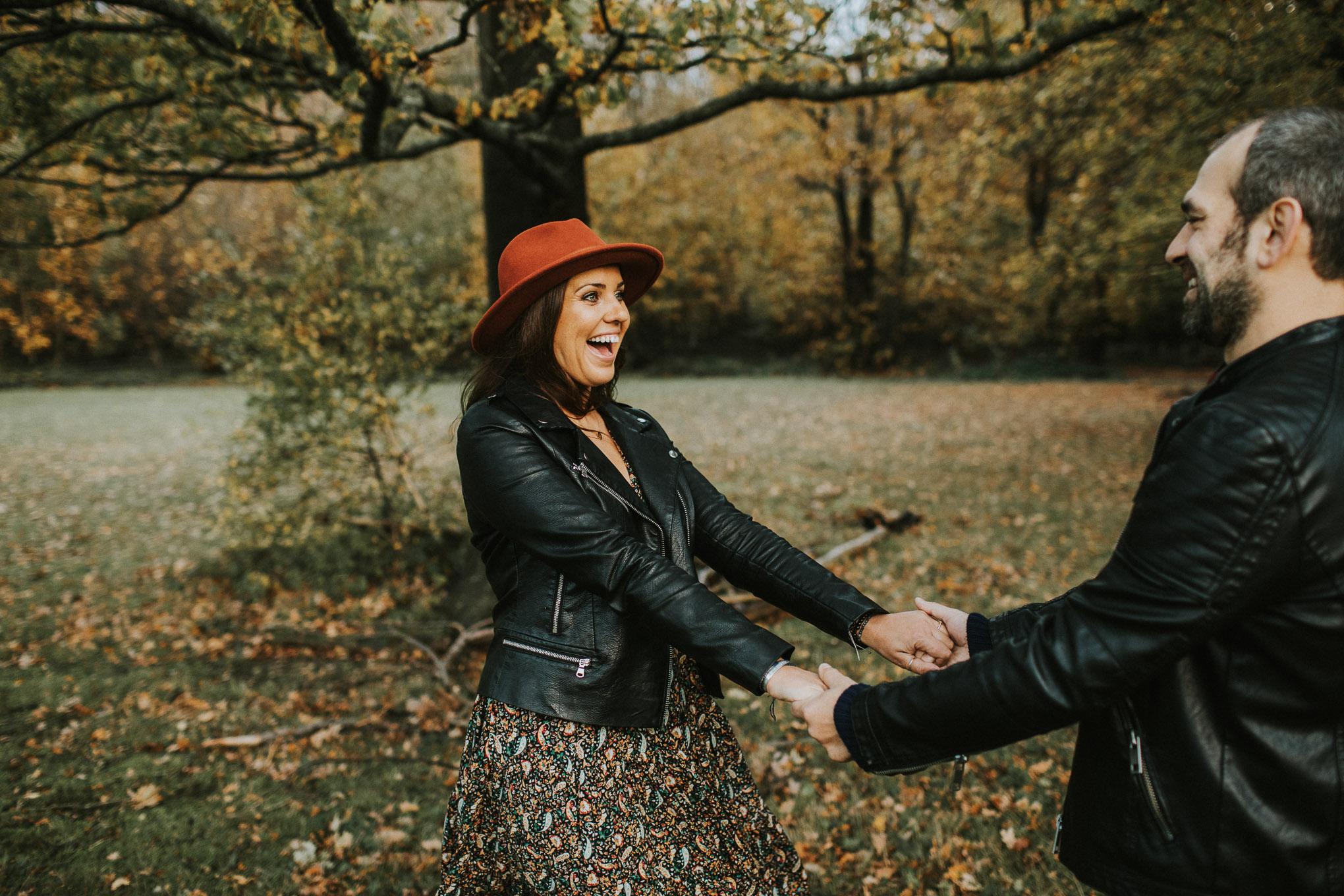 Autumn pre-wedding  at The Dreys